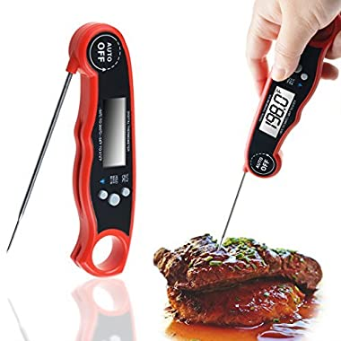 Meat Thermometer, WeGuard Instant Read Thermometer cooking thermometer with backlight magnet Auto On/ Off digital probe food thermometer for BBQ Grill smoker