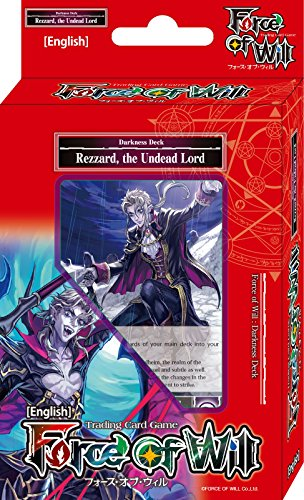 Force Of Will Rezzard The Undead Lord (Dark) FOW Alice Cluster Twilight Wanderer Starter Deck - 51 Cards
