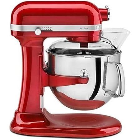 Kitchenaid Artisan 6 9l Rosso Imperiale Robot Da Cucina Impastatrice Planetaria 5ksm7580xeer Amazon It Casa E Cucina