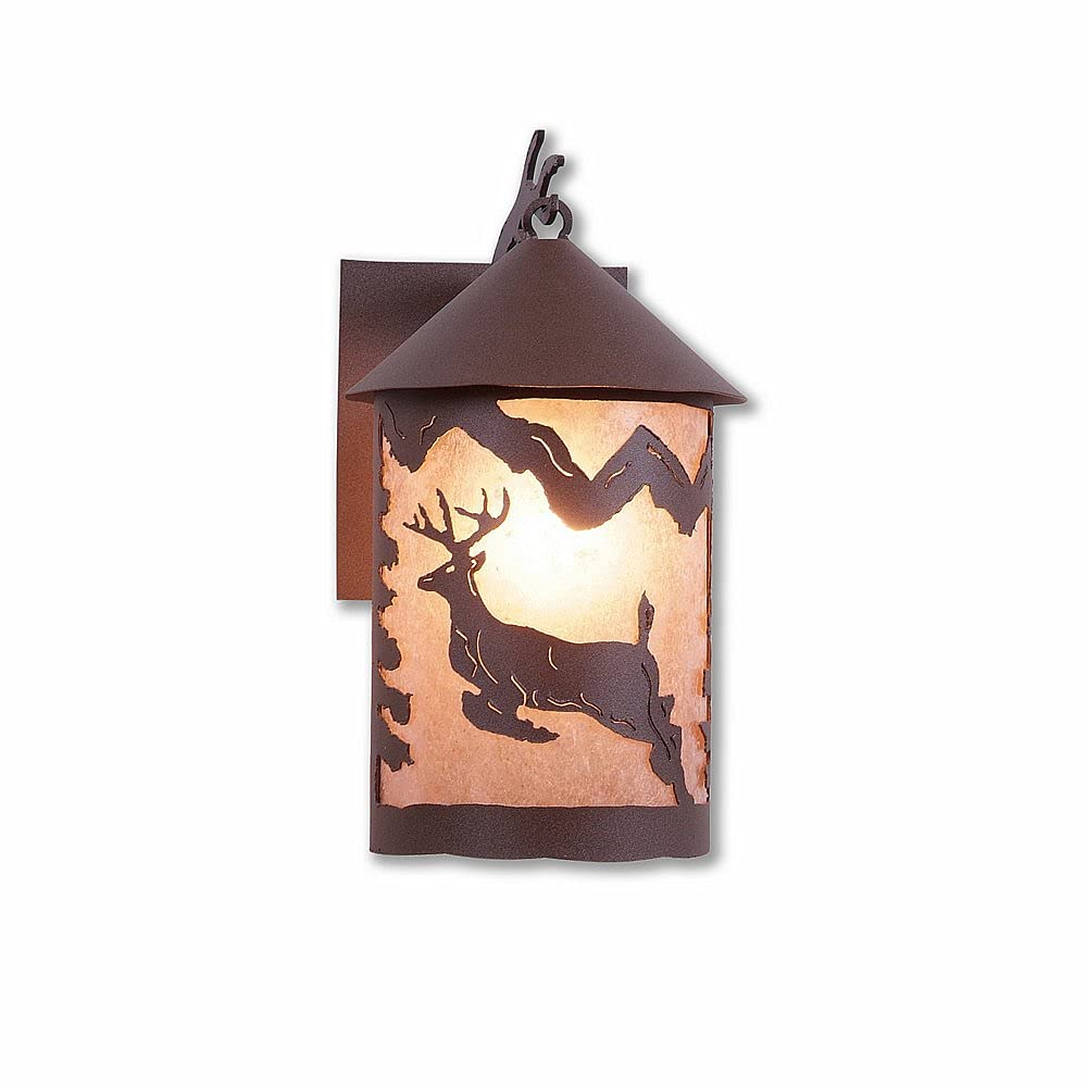 Outdoor Wall Light Rustic Style Made Omaha Daily bargain sale Mall L in USA Cascade Unique