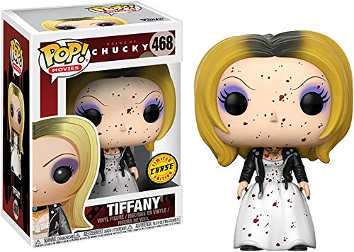 Funko Pop! Horror: Bride of Chucky - Tiffany Limited Edition Chase Variant Vinyl Figure (Includes Compatible Pop Box Protector Case)