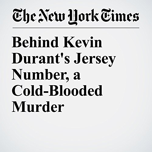 Behind Kevin Durant's Jersey Number, a Cold-Blooded Murder audiobook cover art