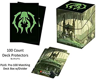 Ultra Pro 100ct Alcove Flip Deck Box MTG Guilds of Ravnica Golgari