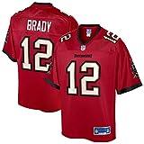 NFL PRO LINE Men's Tom Brady Red Tampa Bay Buccaneers Team Player Jersey