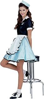 Car Hop Girl Adult Costume - Standard