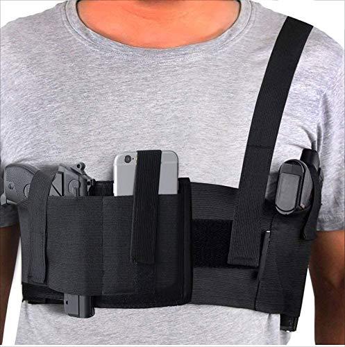 Kcctoo Deep Concealment Shoulder Holster Elastic Tactical Underarm Gun Holster for Men Women
