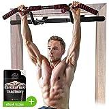 Sportstech Premium Combi Package ! Barre de Traction 6 en 1, y Compris Dip Bar & Power Ropes, Barre de Traction sans...