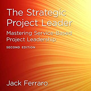 The Strategic Project Leader, Second Edition audiobook cover art