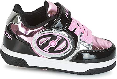 Heelys X2 Plus Lighted HE100158 Rollschuhe Black/Silver/Pink Gr. 34