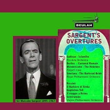 Sargent's Overtures