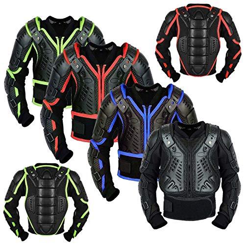 Kinder Körper Rüstung - Motorrad MX Körperschutz - Rüstung kostüm Motorrad Gear Armors Motocross Bikes Schutz e Jacke - Jahr 10