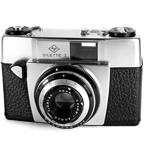 Agfa Silette 1 - Vintage 1960s 35 mm visor de cámara de cine