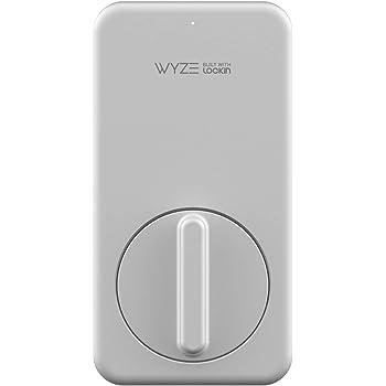 Wyze Lock WLCKG1 WiFi and Bluetooth Enabled Smart Lock, Keyless Door Entry, Fits on Most Deadbolts, Includes Wyze Gateway (hub)