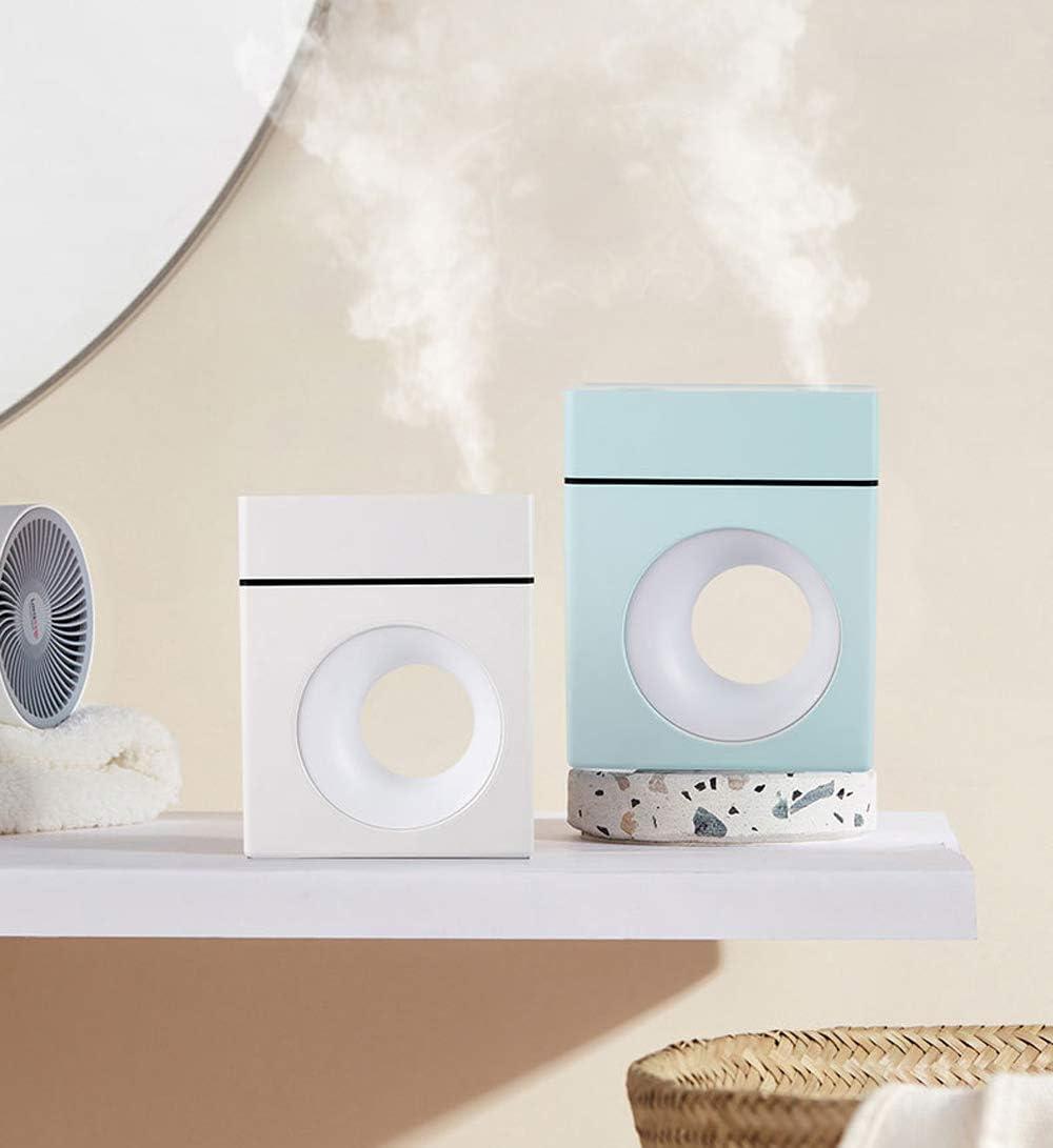 Dormitorio Oficina MoYouno Humidificador de Escritorio silencioso con luz Nocturna y difusor de Aroma autom/óvil Azul 10 Horas de Trabajo humidificador USB Air Cool Mist para hogar