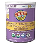 Easy-to-digest organic formula for baby's first twelve months for babies with sensitive stomachs Reduced lactose milk-based powder formulation for easy digestion. 95% less lactose as compared to standard milk based formulas Omega-3 DHA and Omega-6 AR...