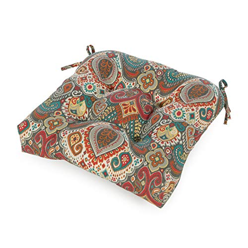 Greendale Home Fashions AZ4800-ASBURYPARK Painted Desert 20-inch Outdoor Dining Seat Cushion
