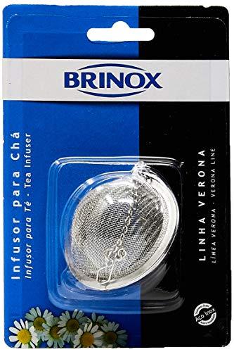 Brinox Verona 2188/302 Infusor para Chá, Ø 5,5 cm, Prata (Aço Inox)