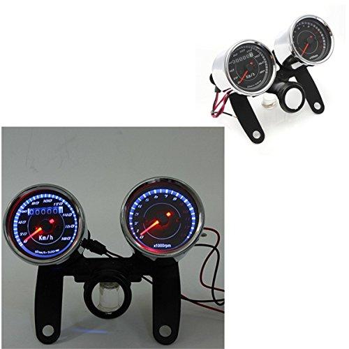 Baosity Brand New Motorcycle Meter Speedometer Digital Sensor 2 Wires with 1 Magnet