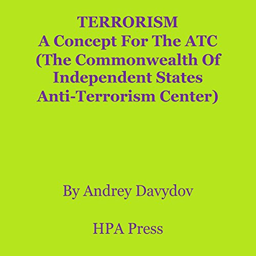Terrorism audiobook cover art