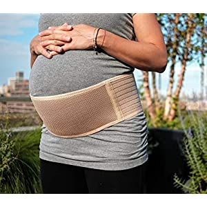 Jill & Joey Maternity Belt – Belly Band for Pregnancy Back Support – Breathable