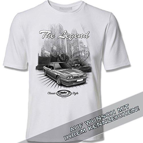 youtex Manta B Black and White T Shirt (XL)
