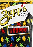 Zapp's New Orleans Kettle Style Voodoo Potato Chips 9 oz. Party Size Bag (4 Bags)