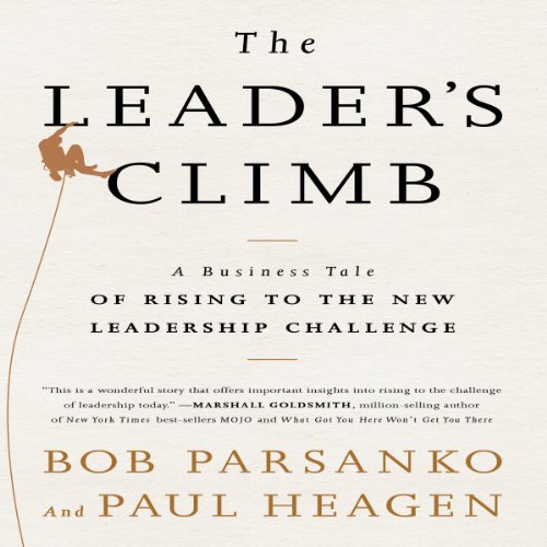 The Leader's Climb audiobook cover art