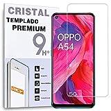 Protector de Pantalla para OPPO K7x - OPPO A74 5G - OPPO A54 5G - REALME Q3 5G - REALME Q3i 5G, Cristal Vidrio Templado Premium