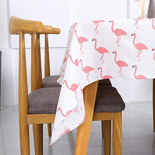 WSNBB Mantel árbol de Navidad y la Ropa de los Ciervos y el algodón Dulce Coreana Mantel, HL,140 * 200cm