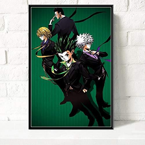 Geiqianjiumai Decoratie Canvas HD Print geanimeerde posters woonkamer muurkunst afbeelding modulaire frameloze schilderij