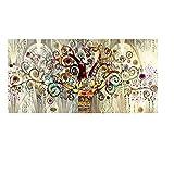 Imprimir en lienzo Árbol de la vida de Gustav Klimt Paisaje Arte de la pared Imágenes Pintura Arte de la pared para la sala de estar Decoración del hogar 70x140cm (27.6x55.1 pulgadas) Sin marco