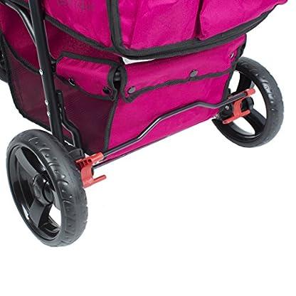 PETIQUE Razzberry Pet Stroller, Razzberry, One Size (ST01100103) 5