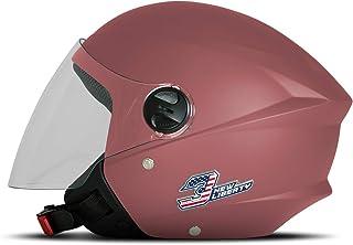 Capacete New Liberty Three Elite Rosa Bebê Fosco Tam. 58 - CAP-708BPK Pro Tork