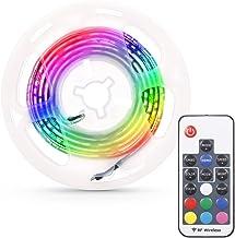 Nishore Lâmpada LED para estojo de computador Fita flexível para lâmpada RGB Diodo 5V Tela de mesa Iluminação de fundo de ...