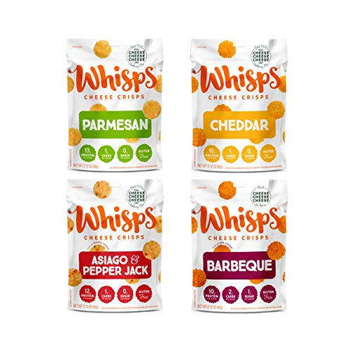Whisps Cheese Crisps | Flavor Variety Packs | 2.12oz