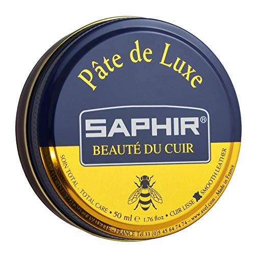 Saphir Cera para calzado, 50ml Marrón caoba