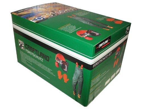 Craftland 22778 Forstschutzset Gr.54 Hose (ohne KWF) Helm und Handschuhen