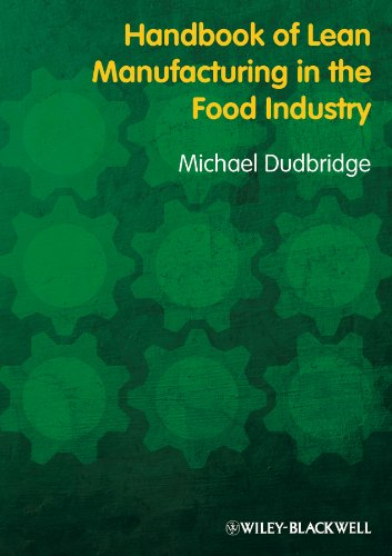 Handbook of Lean Manufacturing in the Food Industry (English Edition)