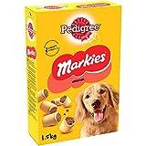 PEDIGREE Markies Original - Biscuits fourrés pour chien, 5 boîtes de 1,5kg de friandises