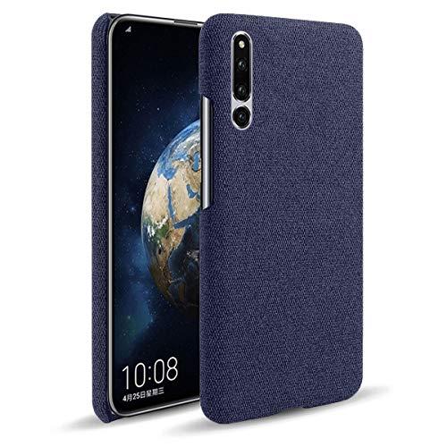 Capa Grandcase Honor Magic 2, capa protetora ultrafina de tecido de feltro anti-impressão digital com absorção de choque para Huawei Honor Magic 2 6,3 polegadas – Azul