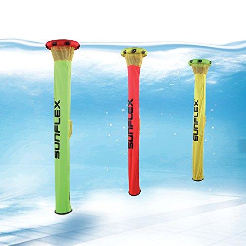 Sunflex Supertubes Kinder Wasserspiel Tauchspiel Funsport, One Size, 74655