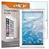 REY [Lot de 2] Verre Trempé pour Acer ICONIA One 10 B3-A40 10.1', Protecteur d'écran qualité supérieure
