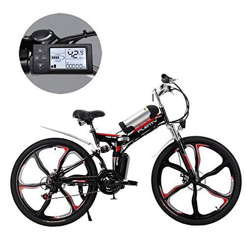 Electric Mountain Bikes,24/26 Inch 8Ah / 384W verwisselbare Lithium batterij elektrische vouwfiets met Kettle Drie Riding Modes, geschikt voor mannen en vrouwen