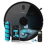 Cecotec Robot Aspirapolvere Conga Serie 5090. App,aspira, Passa Lo straccio e Lava Il Pavimento,...