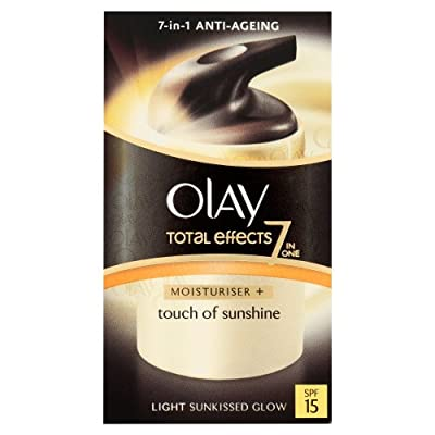 Olay Total Effects Touch of Sunshine Light Sunkissed Glow SPF15 Moisturiser 37 ml