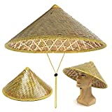 KRONDO Funny Party Hats Asian Hat – Rice...
