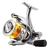 JSX Spinning Fishing Reels Carrete Ligero 6.2: 1 4.7: 1 Razón Anti-corrosión 2000H 3000H 4000H 5000 6000 11BB Rueda de Carrete de Pesca de Agua Salada,4000