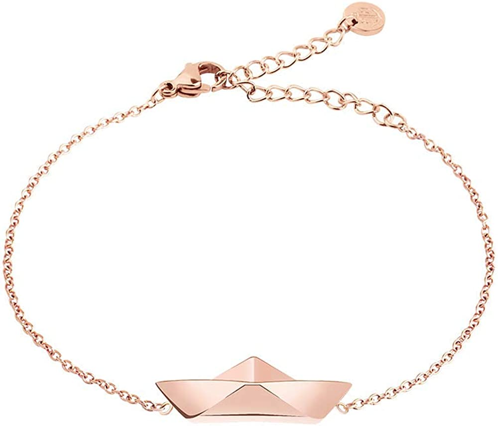 PAUL HEWITT Women's In a popularity Ranking TOP18 Rose Gold Bracelet Ahoy Stainless Wo - Steel