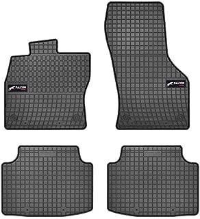 - Antideslizante A medida Aspecto terciopelo Moqueta en negro 1000 g//m/² DBS 1764109 Alfombrillas de coche 3 uds Modelo Luxe Alfombrillas para coche