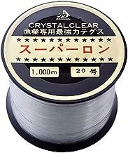 [ テグス・釣り糸 ]ボビン巻ナイロンテグス20号/1000m/透明
